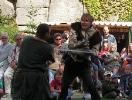 2007-08-03 Vystoupení Roštejn - 3 - Pán a páže