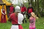 Habrovanská zteč 2014 park, děti a soutěže